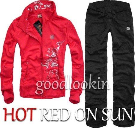 CZERWONY DRES SPORTOWY HOT RED ON SUN (132)
